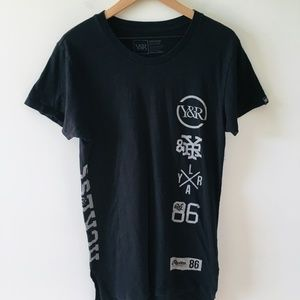Young & Reckless Black Short Sleeve Graphic Tee